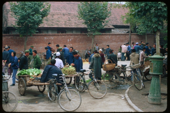 The farmers market at the end of our road where we bought most of our food