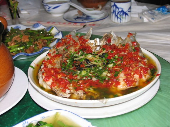 Fish Head Soup (yü tou)